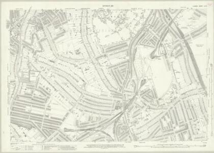 London (1915- Numbered sheets) IX.14 (includes: Lambeth St Mary; Wandsworth Borough) - 25 Inch Map