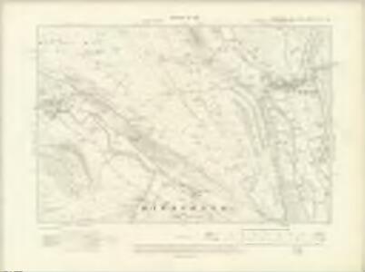 Yorkshire CXV.NE - OS Six-Inch Map