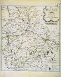 Neue Post Karte von Bayern