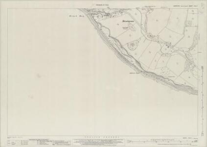 Hampshire and Isle of Wight XCVII.1 (includes: Brixton; Freshwater) - 25 Inch Map