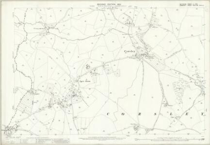 Wiltshire LI.1 & LI.2 (includes: Chapmanslade; Corsley; Selwood; Upton Scudamore) - 25 Inch Map