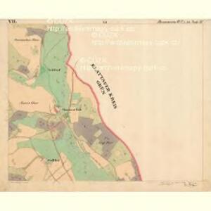 Hammern - c1768-1-007 - Kaiserpflichtexemplar der Landkarten des stabilen Katasters