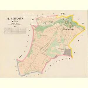 Kl.Nedanitz - c4994-1-001 - Kaiserpflichtexemplar der Landkarten des stabilen Katasters