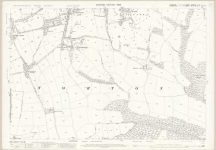 Yorkshire CCXCVIII.8 (includes: Dronfield; Eckington; Sheffield) - 25 Inch Map