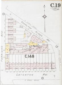 Insurance Plan of London North West District Vol. C: sheet 19-2