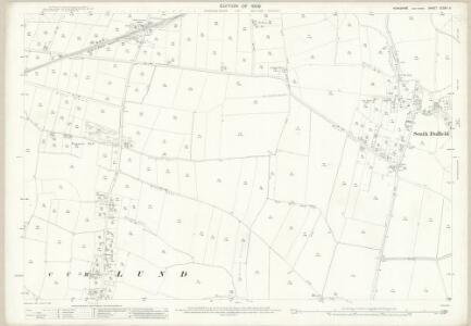 Yorkshire CCXXII.5 (includes: Cliffe; Hemingbrough) - 25 Inch Map