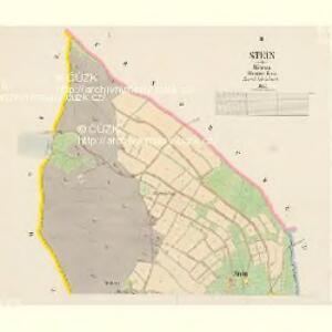 Stein - c2996-1-001 - Kaiserpflichtexemplar der Landkarten des stabilen Katasters