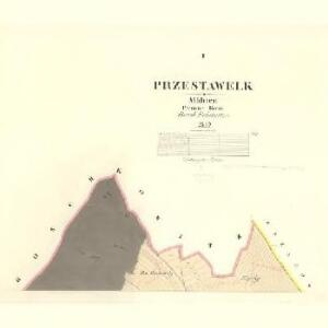 Przestawelk - m2456-1-001 - Kaiserpflichtexemplar der Landkarten des stabilen Katasters