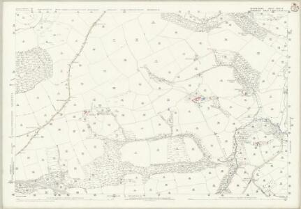 Devon XXIII.4 (includes: Brushford; Dulverton; East Anstey) - 25 Inch Map