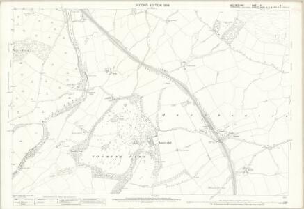 Westmorland XL.5 (includes: Firbank; Killington; Sedbergh) - 25 Inch Map