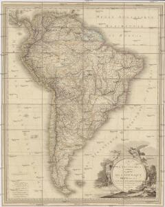 A map of South America