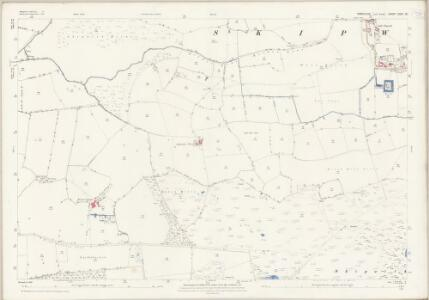 Yorkshire CCVI.12 (includes: Escrick; Riccall; Skipwith) - 25 Inch Map