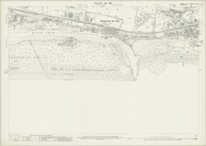Sussex LXV.10 (includes: Kingston By Sea; Shoreham By Sea; Southwick) - 25 Inch Map