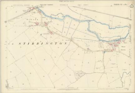Huntingdonshire I.16 (includes: Ailsworth; Chesterton; Elton; Sibson cum Stibbington; Sutton; Water Newton) - 25 Inch Map