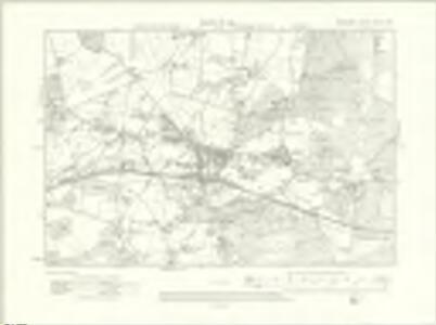 Berkshire XXXIX.SW - OS Six-Inch Map