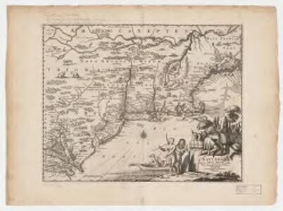 Novi Belgii, quod nunc Novi Jorck vocatur, Novae q[ue] Angliae & partis Virginiae : accuratissima et novissima delineatio