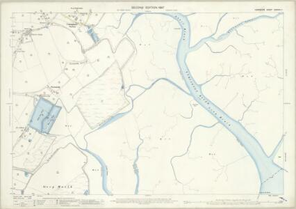 Hampshire and Isle of Wight LXXXVIII.7 (includes: Boldre; Lymington) - 25 Inch Map