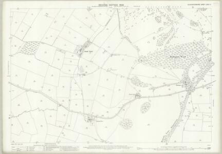 Gloucestershire LXXIII.3 (includes: Dodington; Dyrham and Hinton; Tormarton) - 25 Inch Map
