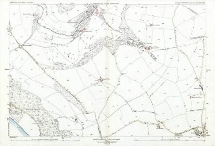 Gloucestershire XXXVIII.11 (includes: Newland; St Briavels; Trelech United) - 25 Inch Map