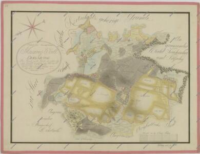 Mapa pozemků dvora Val 1