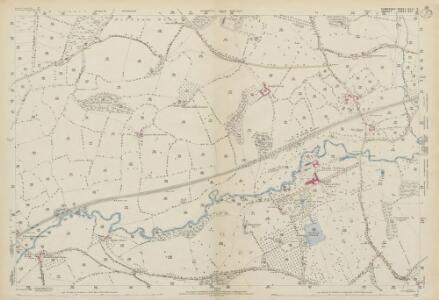 Somerset XCII.9 (includes: Chard; Thorncombe; Winsham) - 25 Inch Map