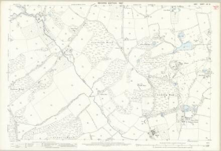 Kent LXI.16 (includes: Horsmonden) - 25 Inch Map