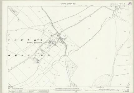 Bedfordshire IV.6 (includes: Melchbourne and Yelden; Newton Bromswold) - 25 Inch Map