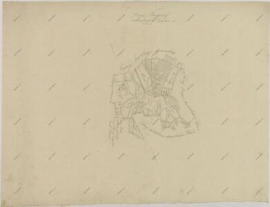 Záměrná mapa dvora Bzí 1