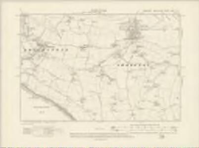 Hampshire & Isle of Wight XCVII.NE - OS Six-Inch Map