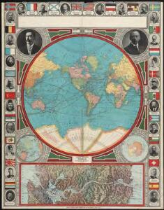 Spherical projection world
