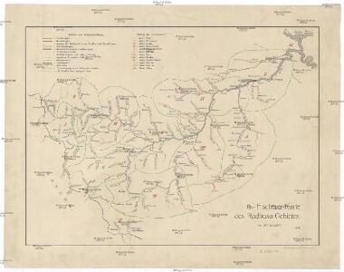 Fischerei-Karte des Radbusa-Gebietes