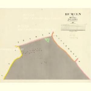 Humeln - c1984-1-001 - Kaiserpflichtexemplar der Landkarten des stabilen Katasters