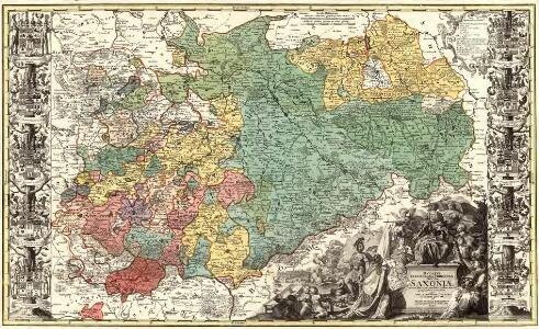 Dvcatvs Electoratus et Principatus Dvcvm Saxoniae pro ut illorum conditio hodierna est Geographice consignati.