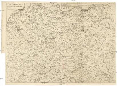 Carte generale di lutta l Alemagna, e paesi circonuicini