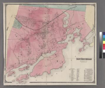 Plate 38: New Rochelle, Westchester Co. N.Y.