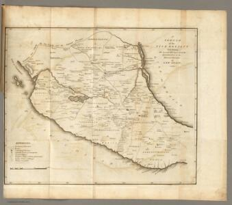 Sketch of the ... Internal Provinces of New Spain.