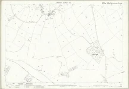 Dorset VIII.4 (includes: Donhead St Mary; Melbury Abbas) - 25 Inch Map