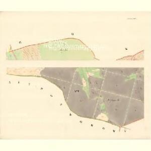 Mutienitz - m1904-1-001 - Kaiserpflichtexemplar der Landkarten des stabilen Katasters