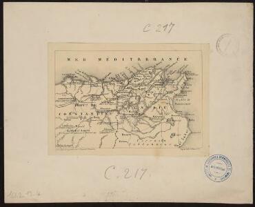 [Algérie (prov de Constantine) et nord de la Tunisie]