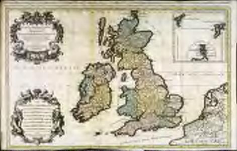 Les isles britanniques; qui contiennent les royaumes, d'Angleterre, Escosse, et Irlande