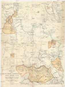 Sketch map of Cape York peninsula