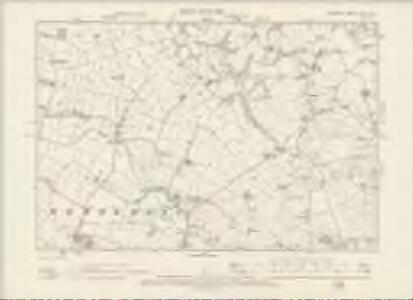 Cheshire XXVII.NE - OS Six-Inch Map