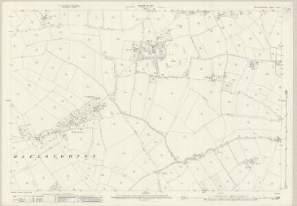 Nottinghamshire XXXIV.7 (includes: Bleasby; Halloughton; Southwell; Thurgarton) - 25 Inch Map