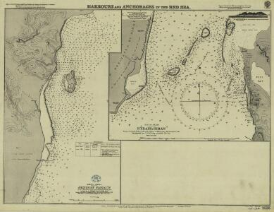Red Sea [Harbours and anchorages in the ] (1919)