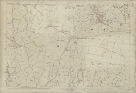 Somerset XII.1 (includes: Barrow Gurney; Dundry; Winford) - 25 Inch Map