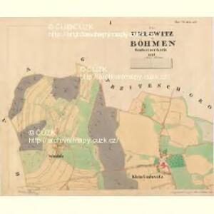 Gross Umlowitz - c5466-1-001 - Kaiserpflichtexemplar der Landkarten des stabilen Katasters