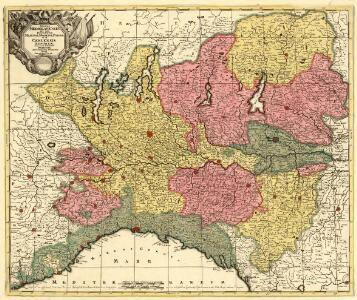 Status Mediolanensis nec non Ducatum Mantuae, Modenae, Parmae ut et Genuensis Reipublicae