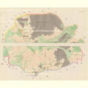 Zernowitz (Zernowice) - c9414-1-001 - Kaiserpflichtexemplar der Landkarten des stabilen Katasters