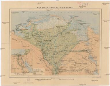 Das Nil-Delta und der Sues-Kanal