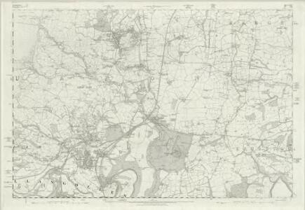 Denbighshire XXXV - OS Six-Inch Map